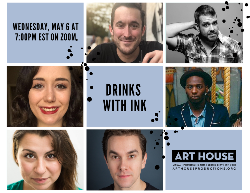 Virtual Drinks with INK - Wednesday, May 6 at 7:00pm EST