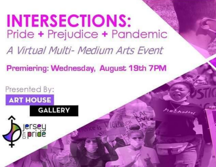 INTERSECTIONS: Pride + Prejudice + Pandemic - Wednesday, August 19 at 7pm EST