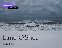 Landscapes and Meditation, Art to Quiet The Mind by Lane O'Shea - Feb. 8-16