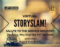 Virtual Story Slam - Thursday, May 14 at 7:00pm EST