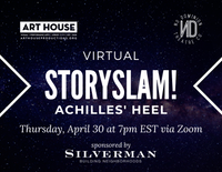 Virtual Story Slam - Thursday, April 30 at 7:00pm EST