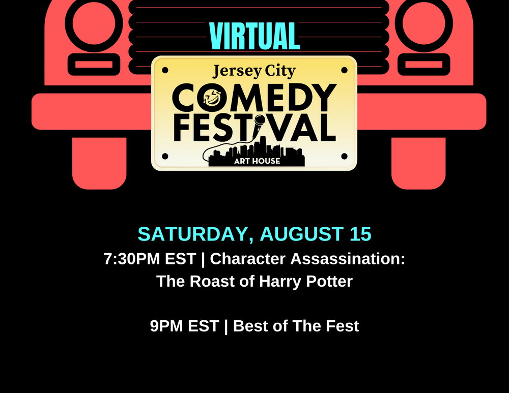 Virtual Jersey City Comedy Festival - August 15, 2020