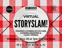 Virtual Story Slam - Thursday, May 28 at 7:00pm EST