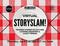 Virtual Story Slam - Thursdays at 7pm EST, March 19 - August 6, 2020