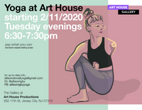 Yoga at Art House - Feb. 11-Mar. 10, 2020