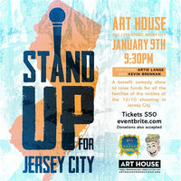 Stand Up for Jersey City - Jan. 9 at 7pm & 9:30pm