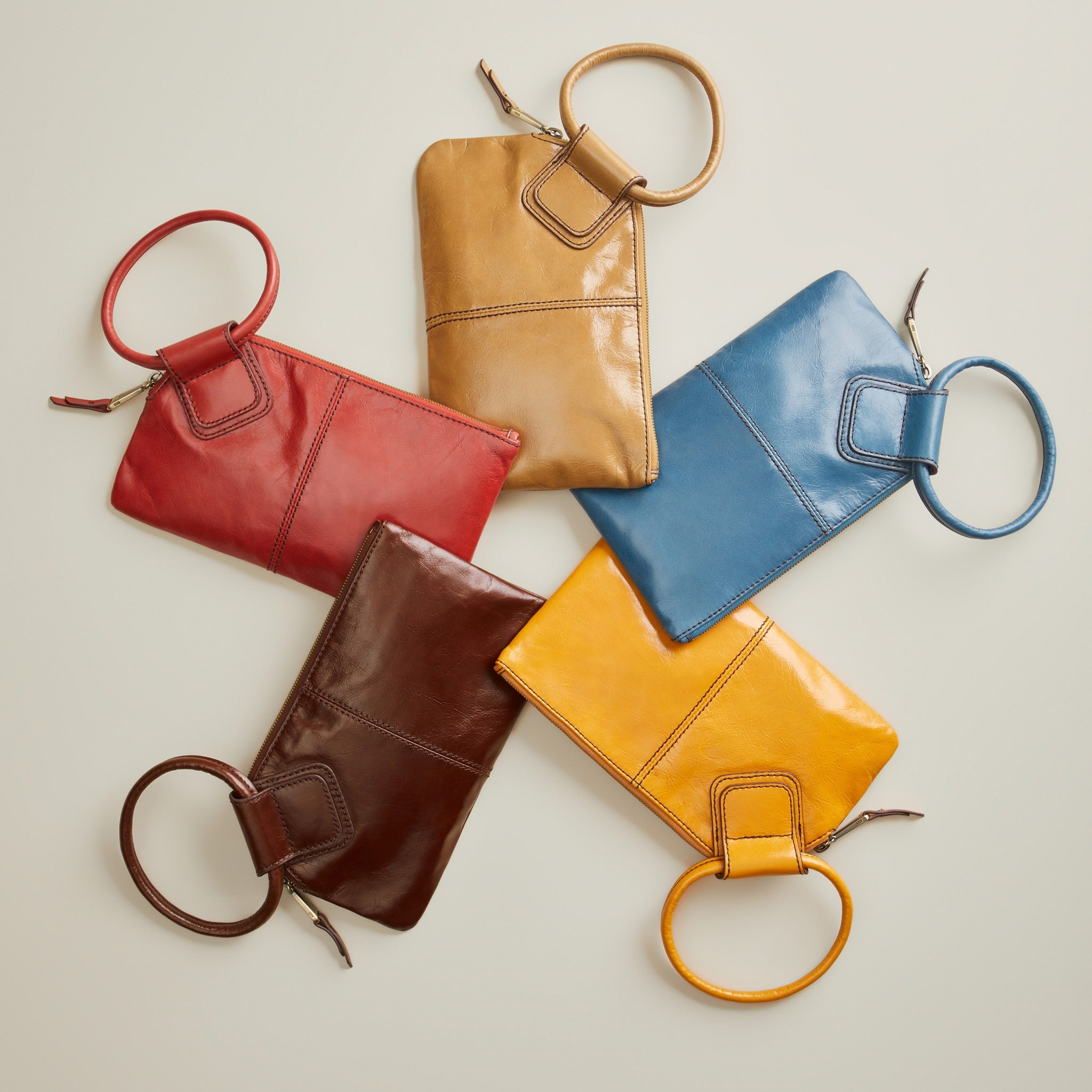 Hobo Handbags fine leather and colors