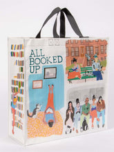 Blue Q All Booked Up Shopper Grocery Recycled Tote Bag - http://www.shopabigails.com