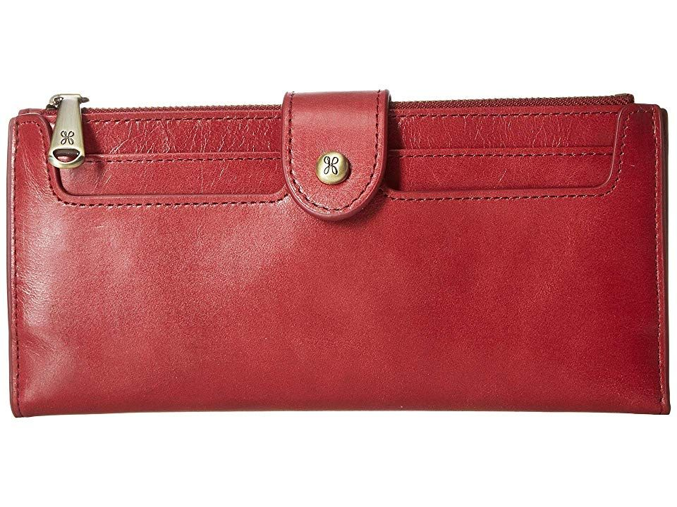 Hobo Dunn Wallet in Logan Berry - http://www.shopabigails.com