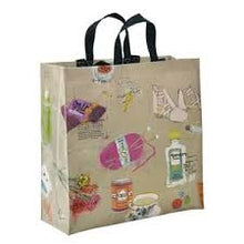 Blue Q Favorite Things Shopper Grocery Recycled Tote Bag - http://www.shopabigails.com
