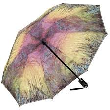 Umbrella Waterlilies at Sunset RC Folding Umbrella - http://www.shopabigails.com