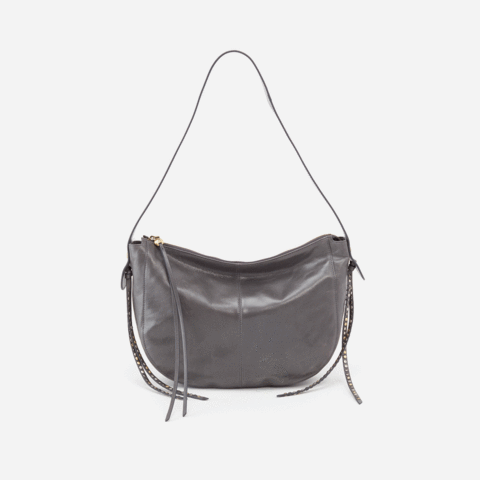 Hobo Enchant Shoulder Bag in Graphite - http://www.shopabigails.com