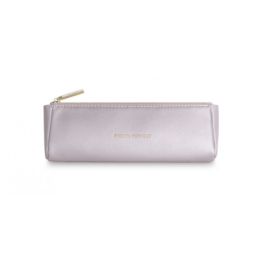 MAKE UP BAG | PRETTY PERFECT | METALLIC PINK | KATIE LOXTON - http://www.shopabigails.com