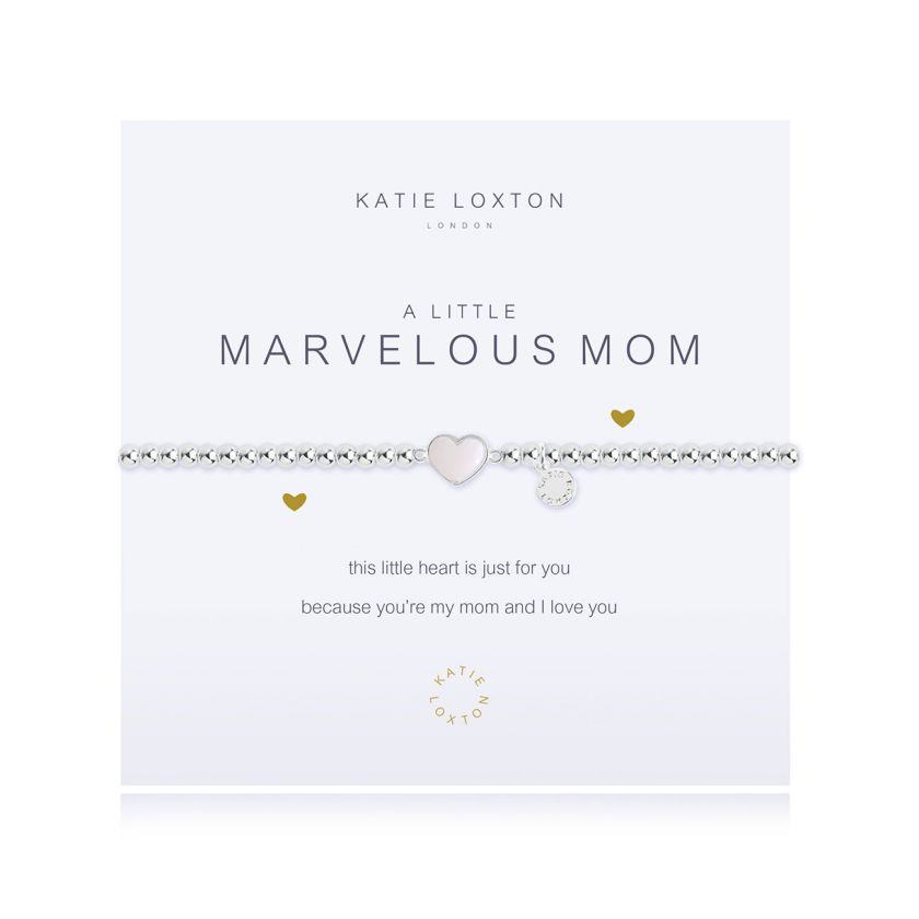 A LITTLE MARVELOUS MOM - BRACELET - Katie Loxton - http://www.shopabigails.com