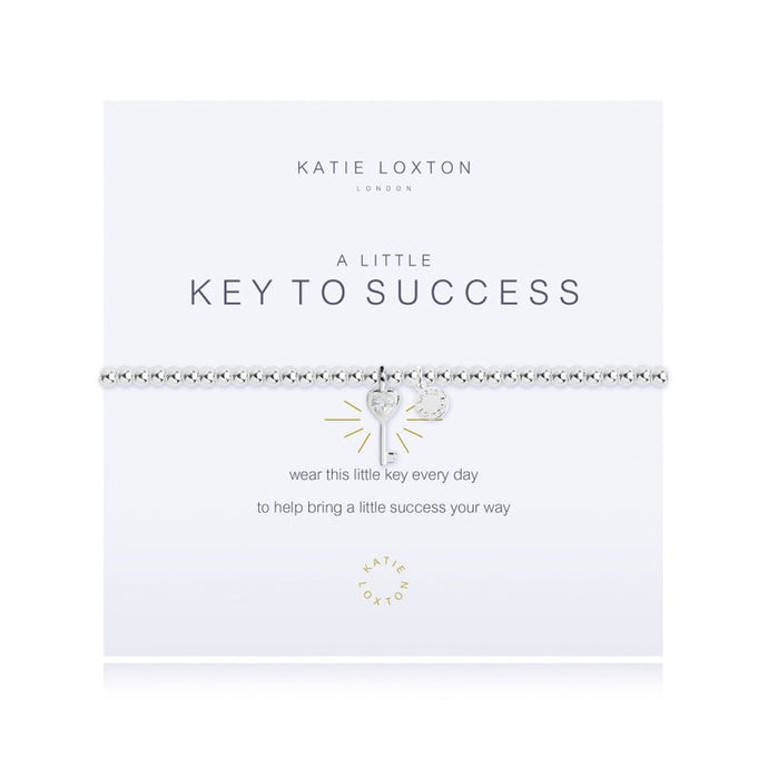 A LITTLE Key to Success - BRACELET- Katie Loxton - http://www.shopabigails.com