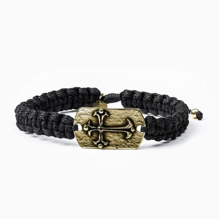 Shield of Faith Bracelet Bronze - http://www.shopabigails.com