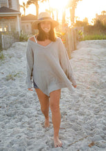 Natural Life Oversized Sweatshirt Grey - http://www.shopabigails.com