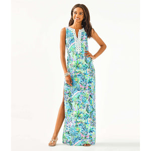 Lilly Pulitzer Donna Maxi Romper Multi Lillys House