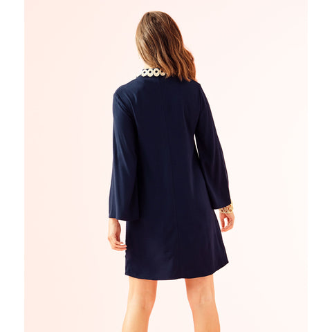 Lilly Pulitzer Gracelynn Stretch Tunic Dress True Navy