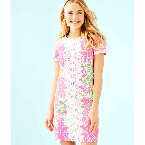 Lilly Pulitzer Maisie Stretch Shift Dress Resort White Koala Me Maybe