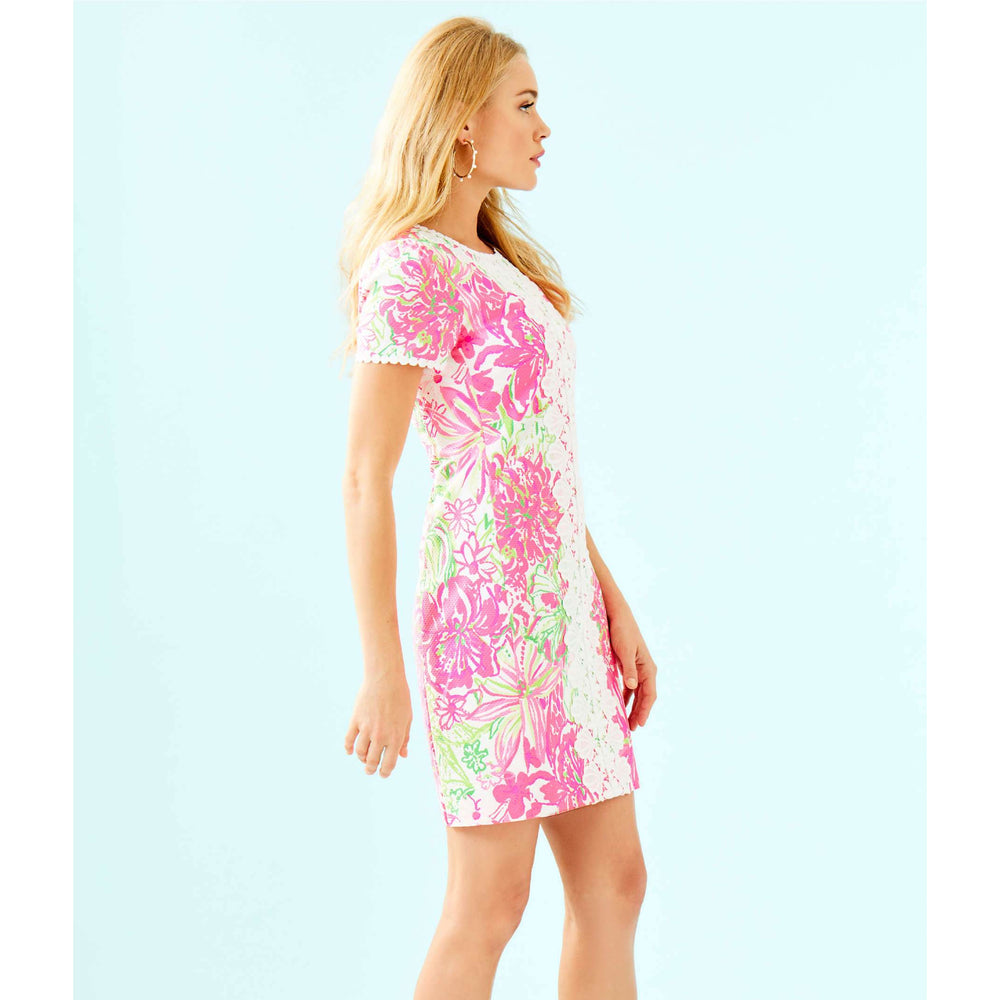 Load image into Gallery viewer, Lilly Pulitzer Maisie Stretch Shift Dress Resort White Koala Me Maybe
