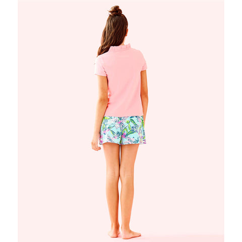 Lilly Pulitzer Girls Thierry Polo Coral Reef Tint