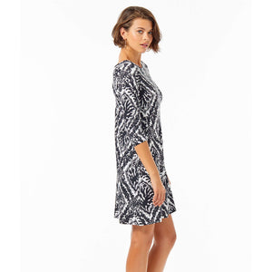 Load image into Gallery viewer, Lilly Pulitzer Ophelia Swing Dress Onyx Reef Madness