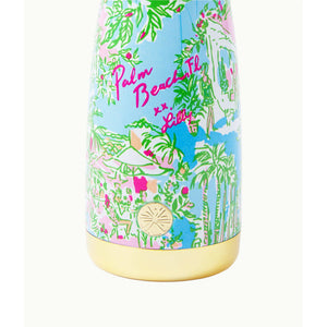 Lilly Pulitzer 24 Oz Squeeze The Day Water Bottle Multi Pb Toile Lp Bottle Large