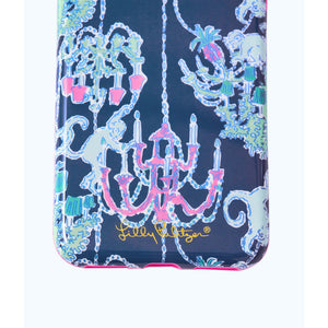 Load image into Gallery viewer, Lilly Pulitzer iPhone 7/8 Classic Case Deep Indigo Pop Up Monkey Trouble