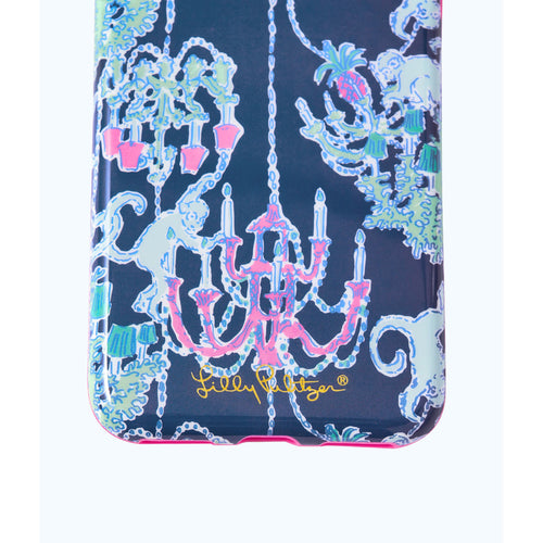 Lilly Pulitzer iPhone 7/8 Classic Case Deep Indigo Pop Up Monkey Trouble