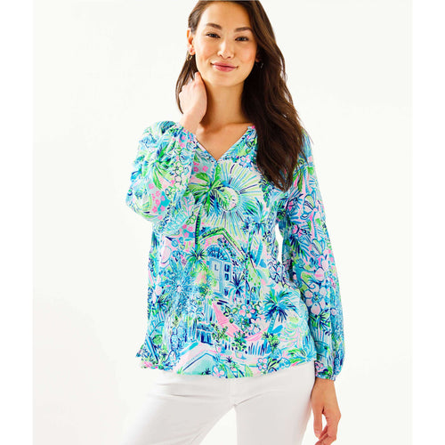 Lilly Pulitzer Winsley Top Multi Lillys House