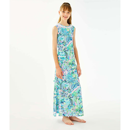 Lilly Pulitzer Girls Little Lilly Classic Maxi Dress Multi Lillys House