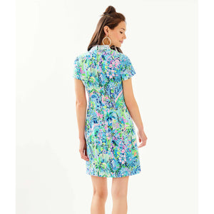 Lilly Pulitzer Adrena Stretch Shift Dress Multi Lillys House