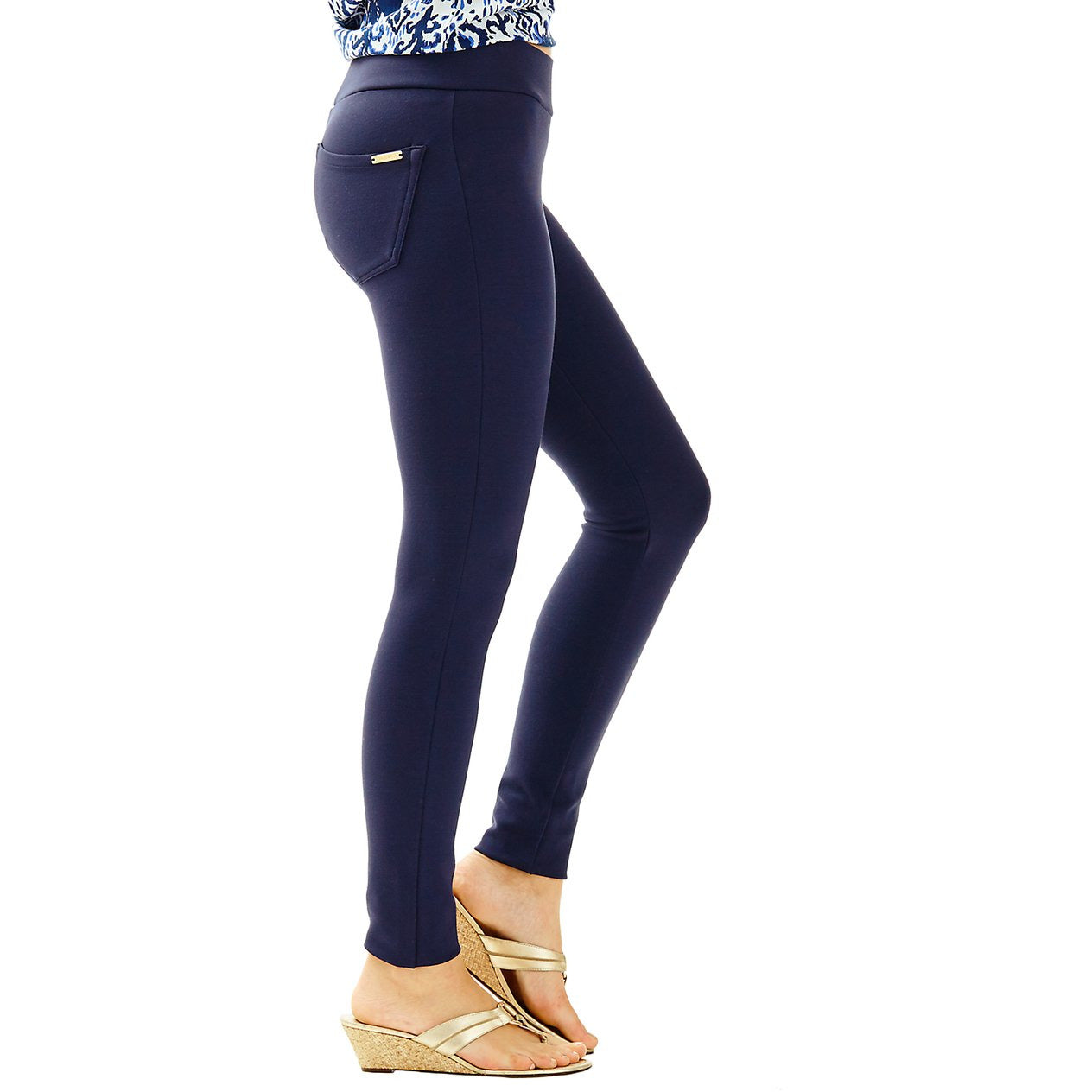 Lilly Pulitzer Mia Legging Midnight Navy