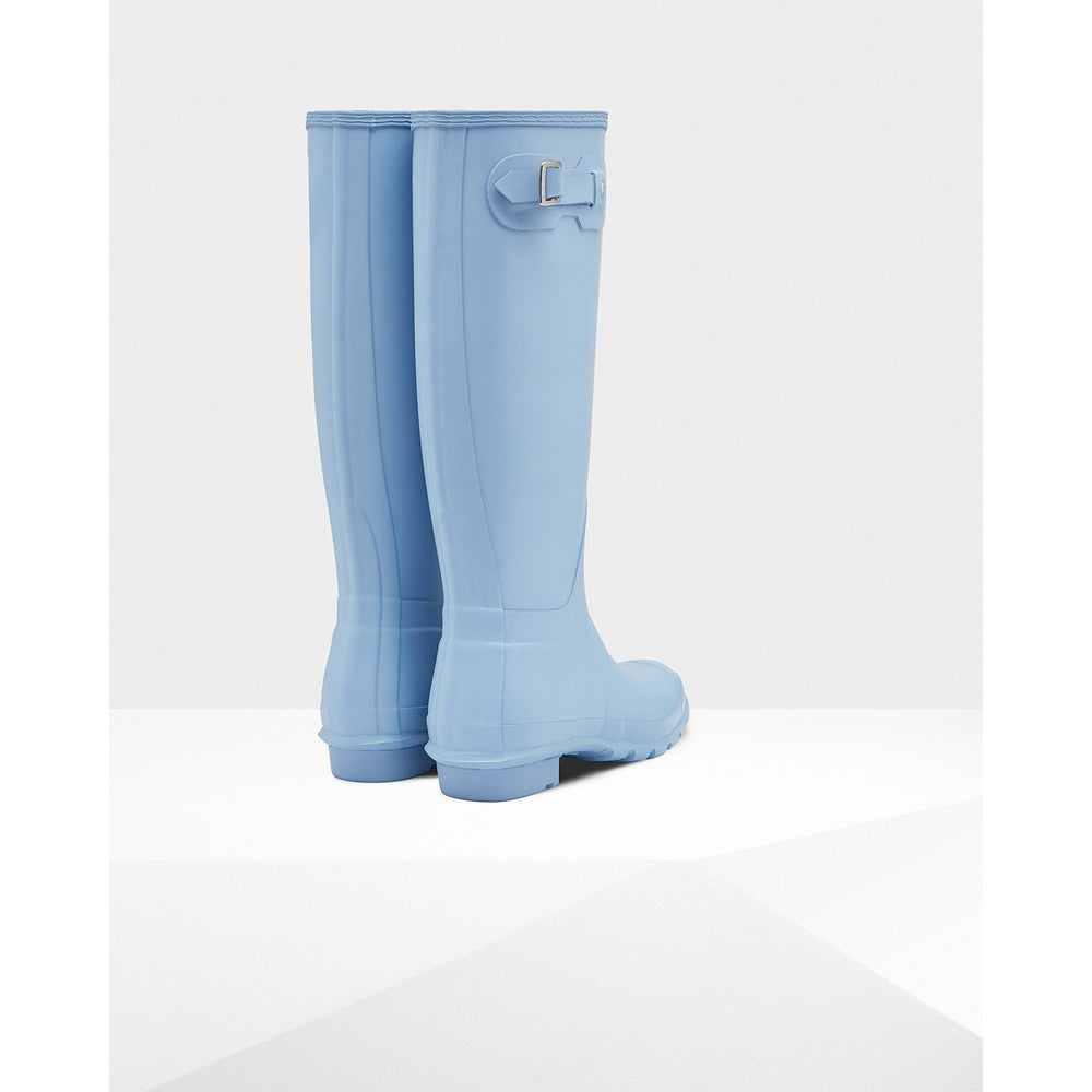 Load image into Gallery viewer, Hunter Women's Original Tall Pale Blue