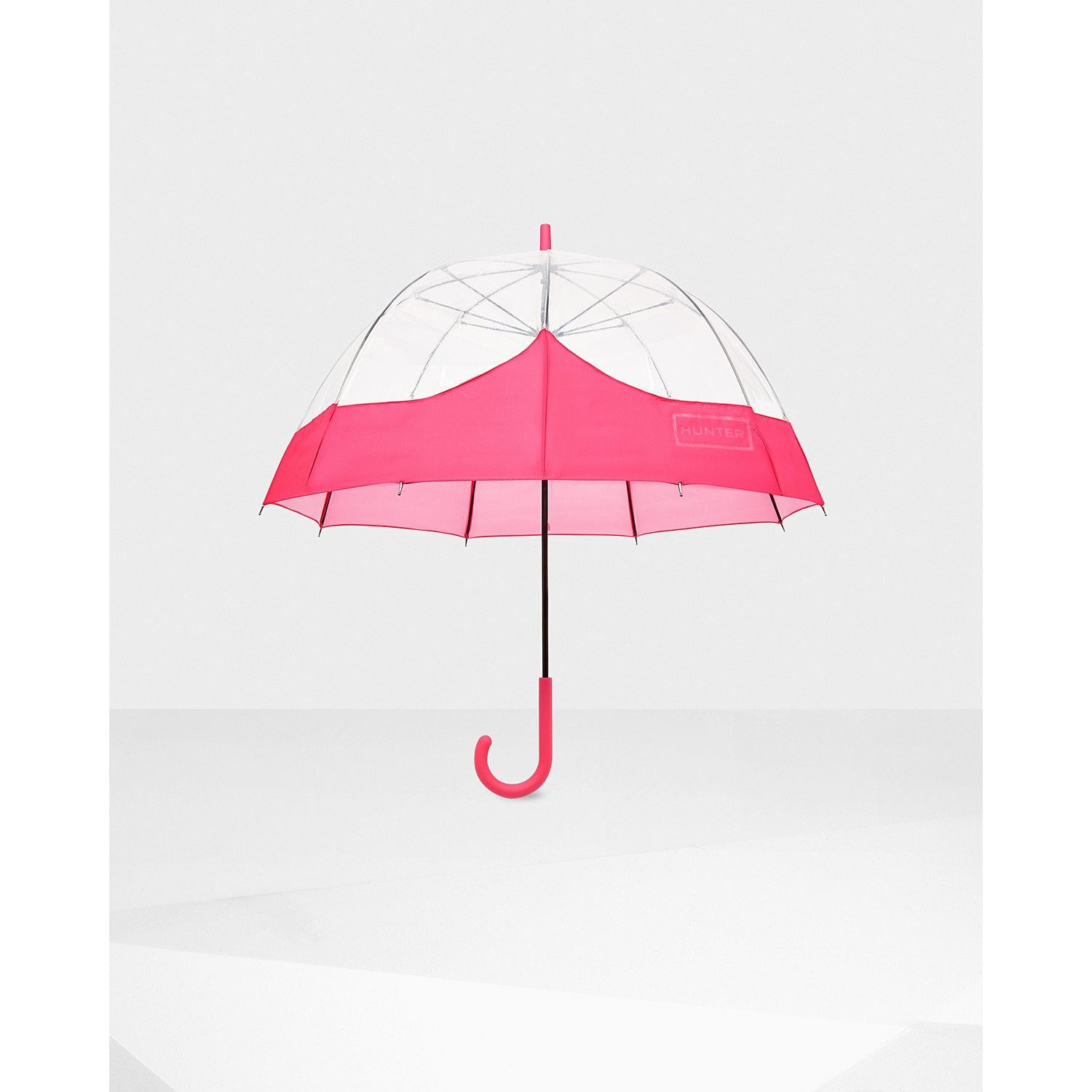 Hunter Original Moustache Bubble Umbrella Bright Pink