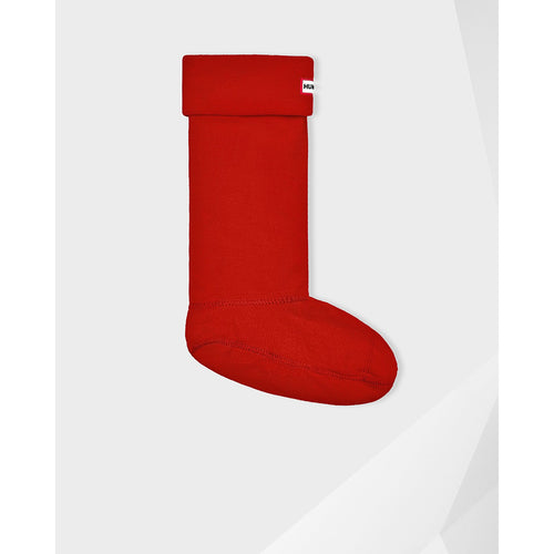 Hunter Original Tall Boot Sock Military Red
