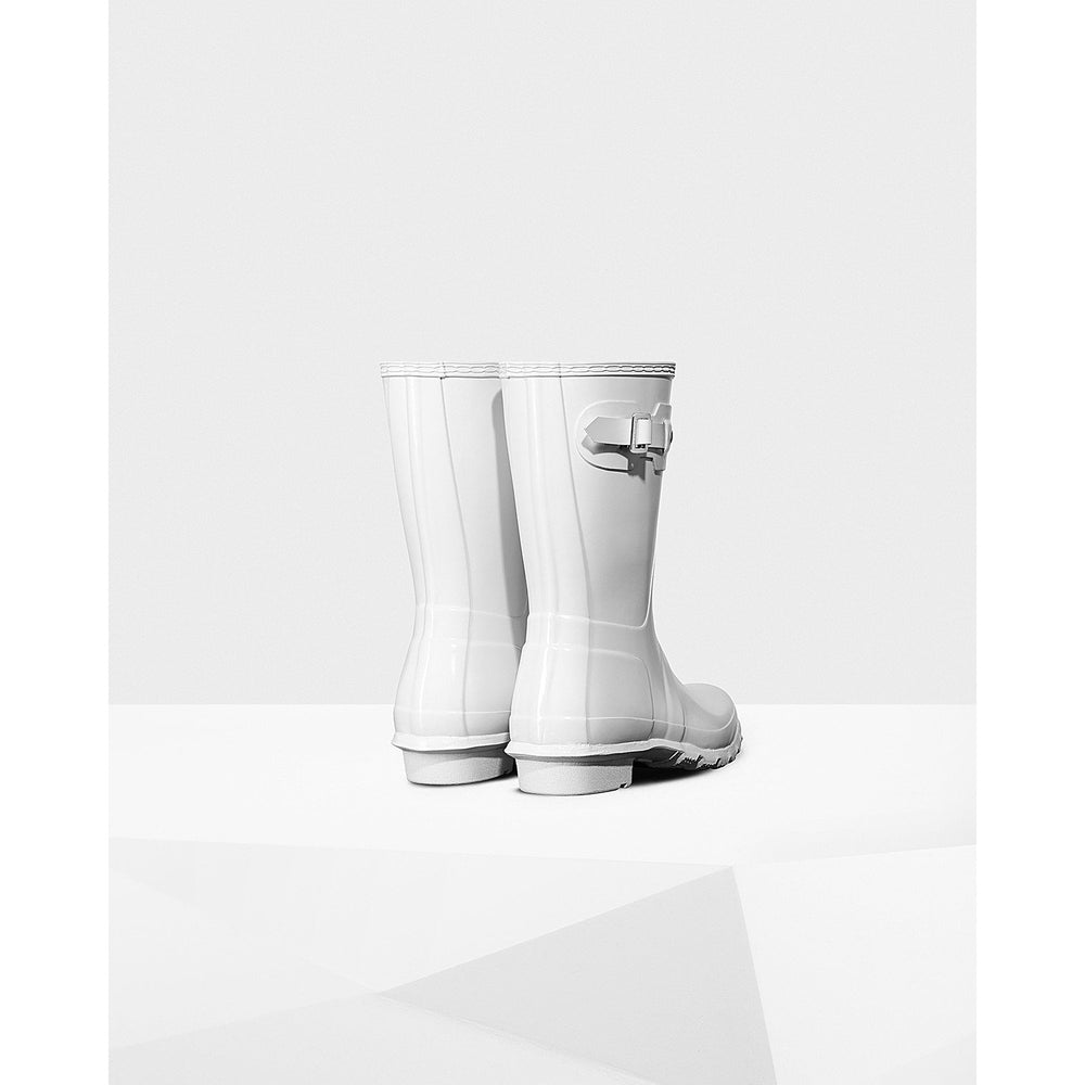 Hunter Women's Original Short Gloss White
