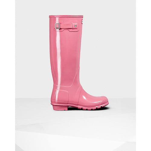 Hunter Women's Original Tall Gloss Pink