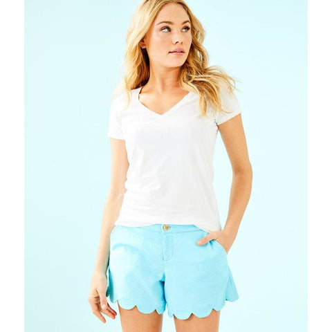 Lilly Pulitzer Michele Top Resort White
