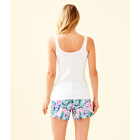 Lilly Pulitzer Tabbie Tank Top Resort White