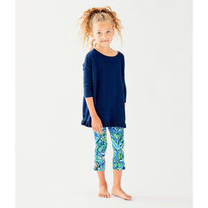 Load image into Gallery viewer, Lilly Pulitzer Girls Tierneigh Sweater True Navy