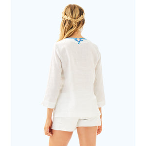 Load image into Gallery viewer, Lilly Pulitzer Amelia Island Tunic Resort White