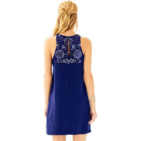 Lilly Pulitzer Celsea Shift Dress True Navy