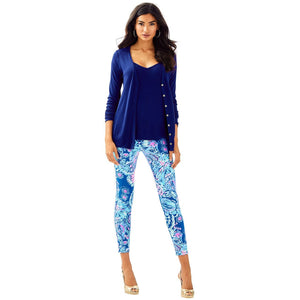 Load image into Gallery viewer, Lilly Pulitzer Lorne Set High Tide Navy