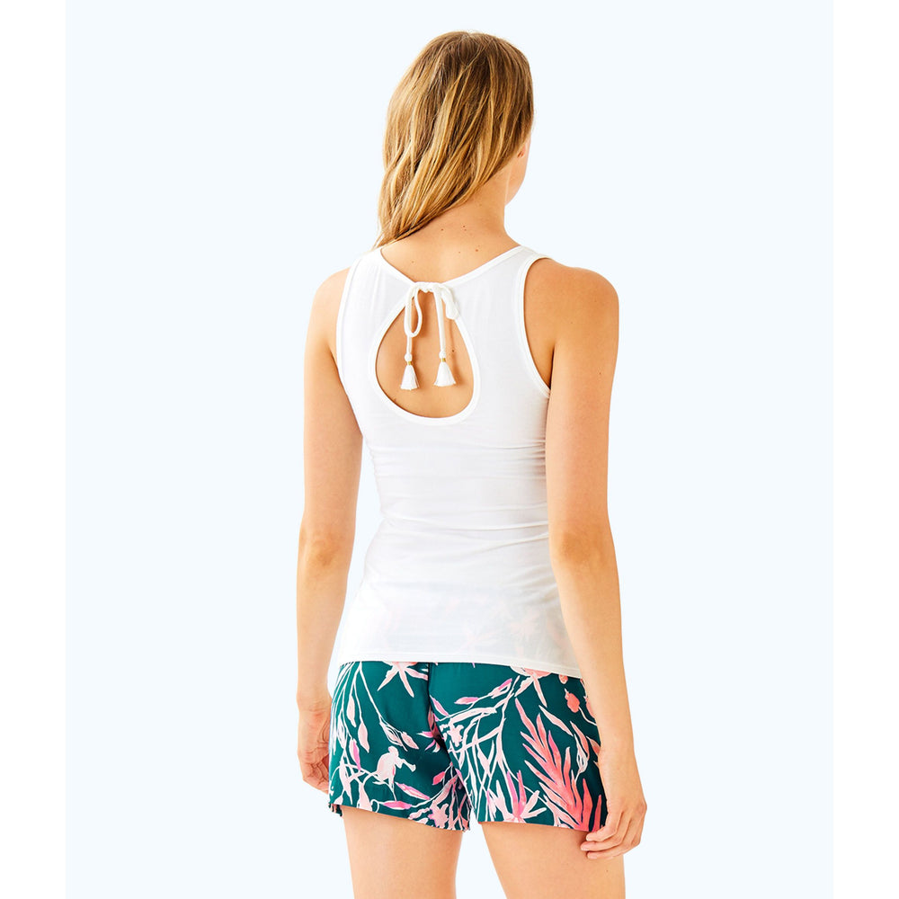 Load image into Gallery viewer, Lilly Pulitzer Noemi Tank Resort White