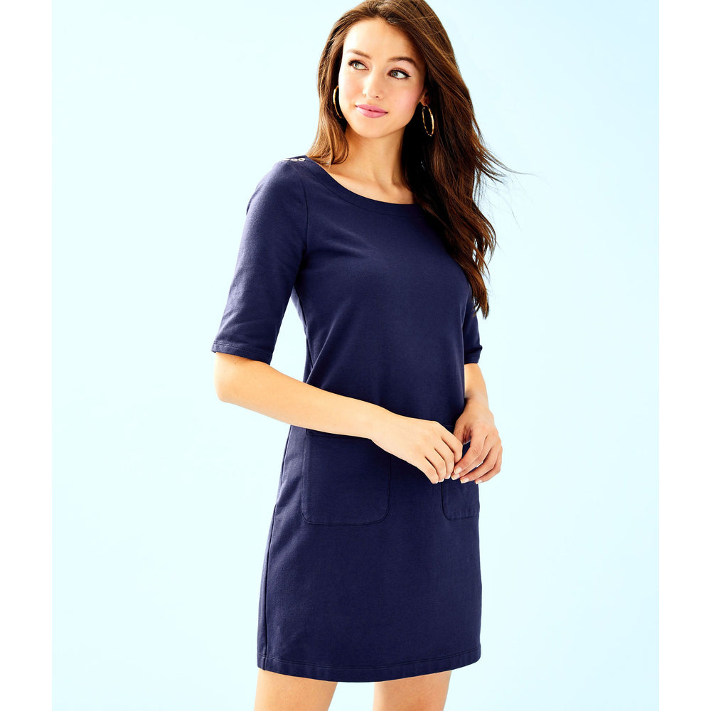 Lilly Pulitzer Lilah Dress True Navy