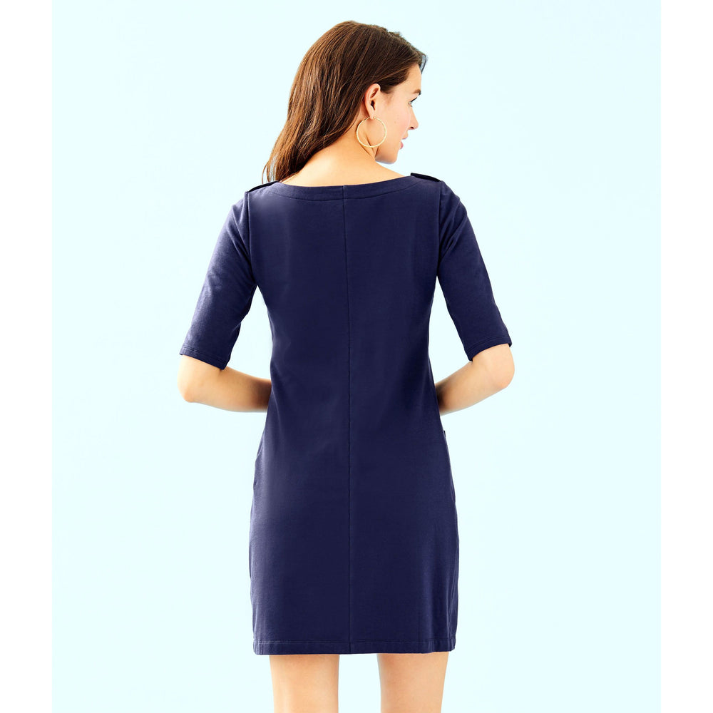 Load image into Gallery viewer, Lilly Pulitzer Lilah Dress True Navy