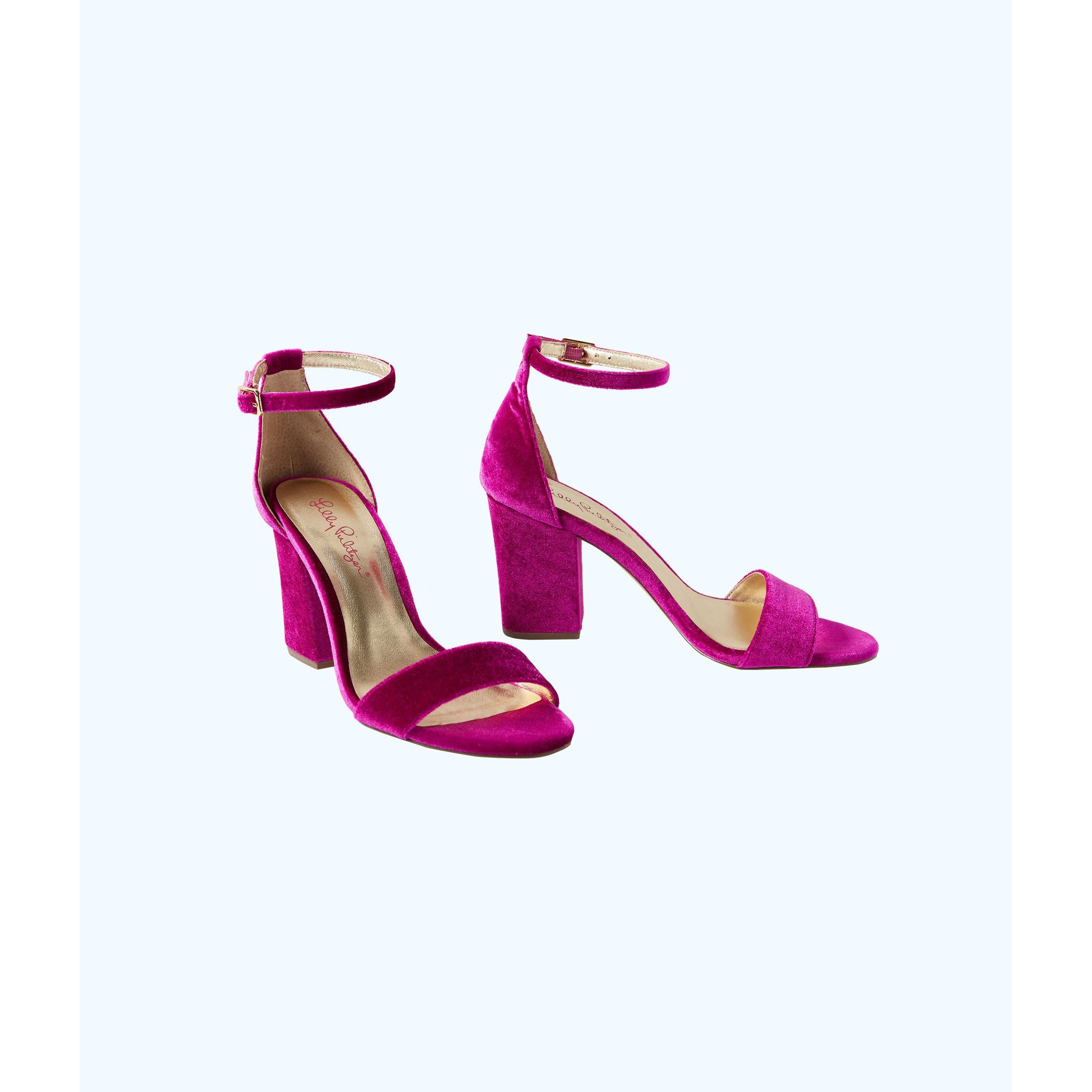 Lilly Pulitzer Amber Lynn Sandal Blackberry