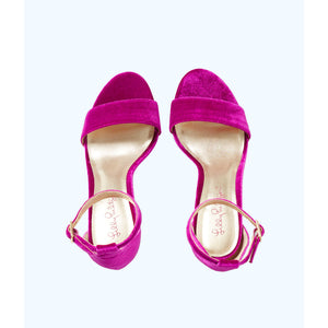 Load image into Gallery viewer, Lilly Pulitzer Amber Lynn Sandal Blackberry